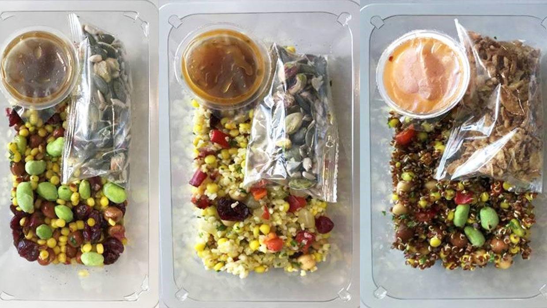 Maître maakt ook lunchsalades